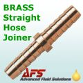 8mm (5/16) Brass Straight Hose Connector Joiner